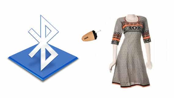Spy-Bluetooth-Kurti-Earpiece-Set