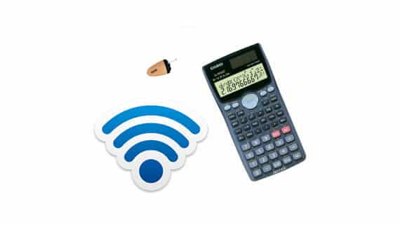 Spy-GSM-Scientific-Calculator-Earpiece