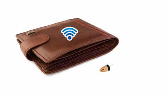 Spy-GSM-Wallet-Earpiece-Set