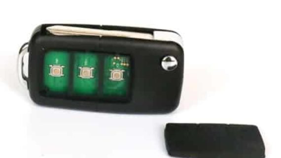 Spy GSM Car Key with Nano Earpiece